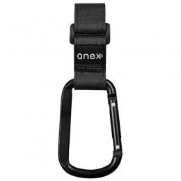 Крючок для коляски ANEX (black)