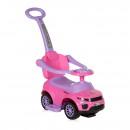 Машинка-каталка Lorelli OFF ROAD+HANDLE (pink)