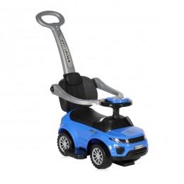 Машинка-каталка Lorelli OFF ROAD+HANDLE (blue)