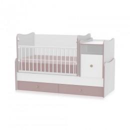 Кроватка-трансформер Bertoni TREND PLUS NEW (white/cappucino)