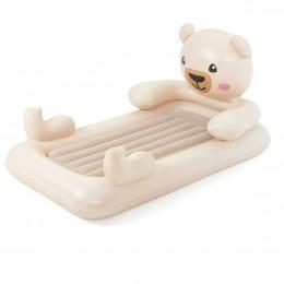 Детская надувная велюр-кровать Bestway 67712