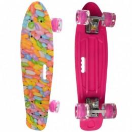 Пенни-борд Profi MS 0749-7 (pink)