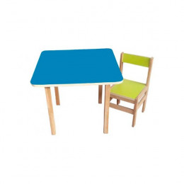 Столик со стульчиком Sofia (blue/green)