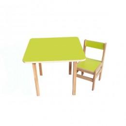 Столик со стульчиком Sofia (green)