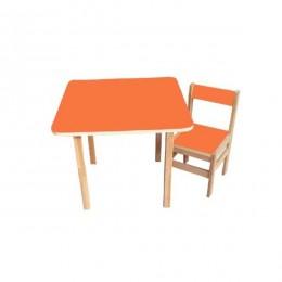 Столик со стульчиком Sofia (orange)