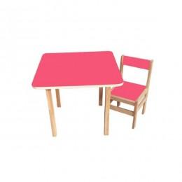Столик со стульчиком Sofia (pink)