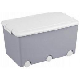 Ящик для игрушек Tega Sowa SO-008 (grey-white)