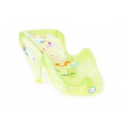 Горка д/купания Tega пластик. Aqua AQ-003 green transperent